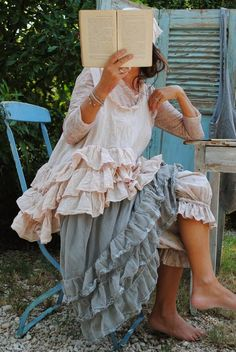 ❥ ruffles. But not the bloomers. That's a bit much!