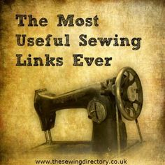 The most useful sewing links ever