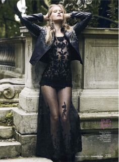 visual optimism; daily fashion fix.: rebel belle: terese pagh by dean isidro for us cosmopolitan september 2012
