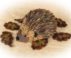 """BEAD KITS > """"Spike"""" the Beaded Hedgehog. Two of my favorite things: beads and hedgehogs! Help--I'm going into awesome overload! :)"""