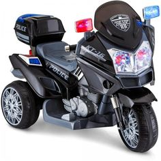 Kids Ride on Motorcycle Police Toddler Battery Powered Boy Bike for sale online Kids Police Car, Police Cars, Police Officer, Police Lights, Doom Patrol, Toys R Us Canada, Bikes For Sale, Kids Ride On, Ride On Toys