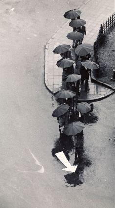 André Kertész • Rainy Day, Tokyo, 1968