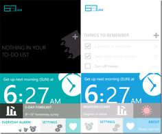 627.AM: Windows Phone Alarm, To-Do List And Weather App