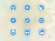 WIP Map icons