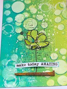 Tracy Evans: Make Today Amazing Kunstjournal Inspiration, Art Journal Inspiration, Mixed Media Journal, Mixed Media Art, Art Journal Pages, Art Journaling, Artist Trading Cards, Art Plastique, Texture Art