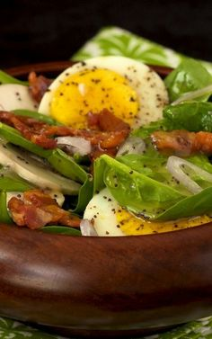 Spinach Salad with Honey Poppy Seed Dressing w,less honey