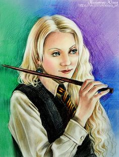 Luna Lovegood by Knesya27 on DeviantArt