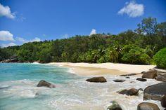 Anse Soleil beach on Mahé in the Seychelles
