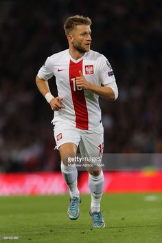 Jakub Blaszczykowski of Poland during the UEFA EURO 2016 qualifier between Scotland and Poland at Hampden Park on October 2015 in Glasgow, Scotland. Soccer Players, Football Soccer, Julian Brandt, Poland Culture, Hampden Park, Visit Poland, Uefa Euro 2016, Age 30, Love Me Like