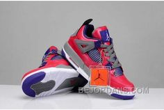 http://www.bejordans.com/big-discount-nike-air-jordan-4-womens-pink-purple-grey-shoes-xrtmr.html BIG DISCOUNT NIKE AIR JORDAN 4 WOMENS PINK PURPLE GREY SHOES XRTMR Only $82.00 , Free Shipping!