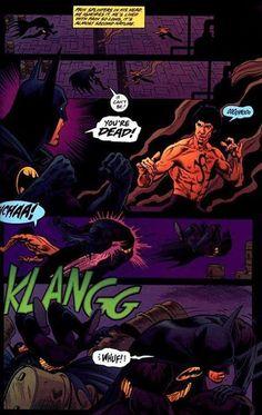 DC Comics Fight Marvel Comics: batman vs bruce lee