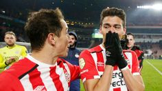 Hector Moreno scored a last-minute winner for #PSV #Eindhoven on Sunday. #HectorMoreno #soccerplayers