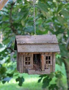 little house for birds Bird Houses Diy, Fairy Houses, Cob Houses, Bird House Feeder, Bird Feeders, Bird Boxes, Little Houses, Beautiful Birds, Garden Art