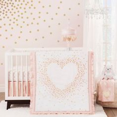 Lambs & Ivy® Sweetheart Crib Bedding Collection - www.BedBathandBeyond.ca