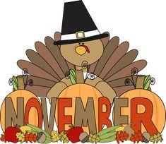 Month of November turkey.