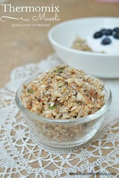 Thermomix Muesli - a simple and delicious way to start the day.