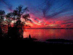 Michigan's Beautiful Upper Peninsula - Big Manistique Lake.