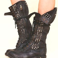 Spiked Boots...must have these