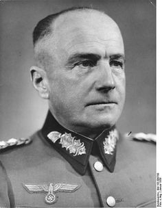 Heinrich Alfred Hermann Walther von Brauchitsch (4 October 1881-18 October 1948 was a German field marshal and the Oberbefehlshaber des Heeres (Commander of the Heer (Army)) in the early years of World War II.