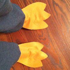 Felt Penguin Feet