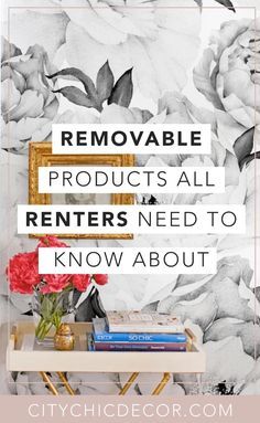 5 Removable Products all Renters Need to Know About – City Chic Decor - delphtry. Apartment Hacks, Apartment Makeover, Apartment Chic, Cheap Apartment, Apartment Living, Apartment Checklist, Studio Apartment, Apartment Hunting, Apartment Goals