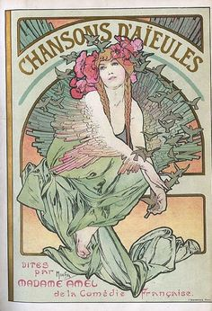 By Alfons Mucha