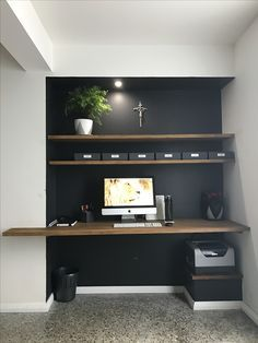 Essential elements of an office. Elegant, organized and useful. Simplicity is the key