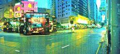 Hennessy Road on a rainy night ©phibouasse