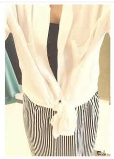Maxi skirts • stripes