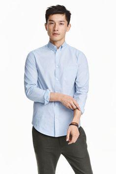 Хлопковая рубашка | H&M