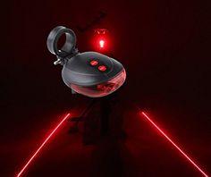 Biztonsági lézeres lámpa kerékpárra, de akár robogóra is felszerelhető. Az 5...-Akciós ár:1490 Ft