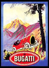 A3 - Wall POSTER Print Art - Bugatti Car Advert Retro Vintage #1