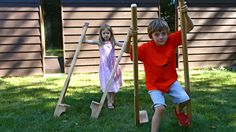 Woodworking Camp: Making Stilts