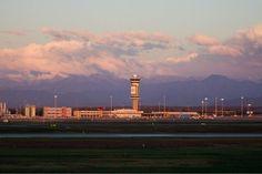 Sunrise at Malpensa airport, Italy