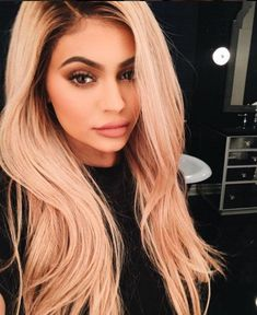 You Have To See How Much Kylie Jenner's Hair Has Changed #refinery29 http://www.refinery29.com/2016/03/106511/kylie-jenner-hair-color#slide-22 Just days later, Jenner was spotted rocking blond hair. Now that even Kendall has had a blond moment, we're dreaming of a time when the whole Kardashian clan opts for light wigs at once. Maybe their next family Christmas card? Kris, Kourtney, you game?...