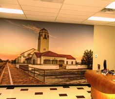 Front Office Mural