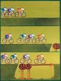 Mordillo Cartoon - bikes