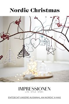 """So nordisch kann Weihnachten sein. 🎄 Related posts: This is how the look """"Nordic Christmas"""" works: Advent Advent a little light … Nordic Christmas decorations with Rose & Grey Pine Cone Christmas Tree, Nordic Christmas, Christmas Candles, Christmas Wood, Christmas Time, Christmas Crafts, Christmas Decorations, Modern Christmas, Tree Decorations"""