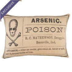 Arsenic Pillow