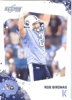 Rob Bironas Tennessee Titans Cards