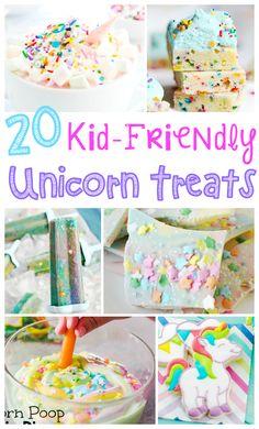 Kids Unicorn Treats