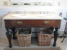 A piano with missing keys reborn as the ultimate work sink!      Roseview Dressage, Millbrook, NY.  Uh wow!    http://pinterest.com/RosevieDressage/
