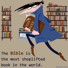 after working in a christian bookstore, i can vouch for this