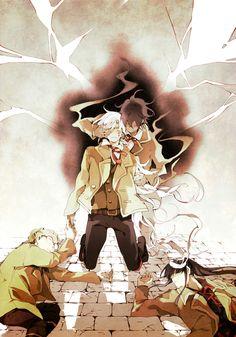 D.GRAY-MAN #manga Allen, Neah, Jonny, and Kanda