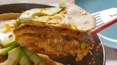 Beef Enchilada Skillet: This beef enchilada skillet will haunt your dreams.