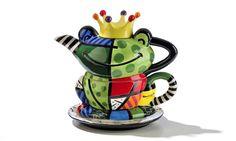 romero-britto-frog-prince-tea-for-one