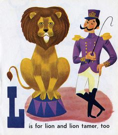 ...and lion tamer, too