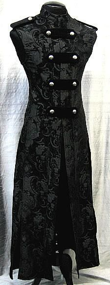 I found 'Hellraiser Cassock - Black Tapestry' on Wish, check it out!