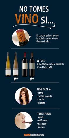 Cuándo no tomar un vino: Hay veces que los defectos o problemas en el vino nos dicen ¡No!  Aquí les decimos.