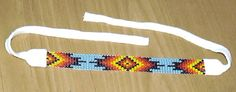 Great CHOCTAW Indian Beaded Bracelet Beaded Bracelet Patterns, Beading Patterns, Beaded Bracelets, Beading Ideas, Beaded Jewelry, Necklaces, Choctaw Indian, Native Indian, Native Art